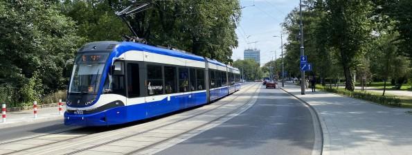 Torowisko tramwajowe ciągu ulic Królewska, Podchorążych, Bronowicka w Krakowie